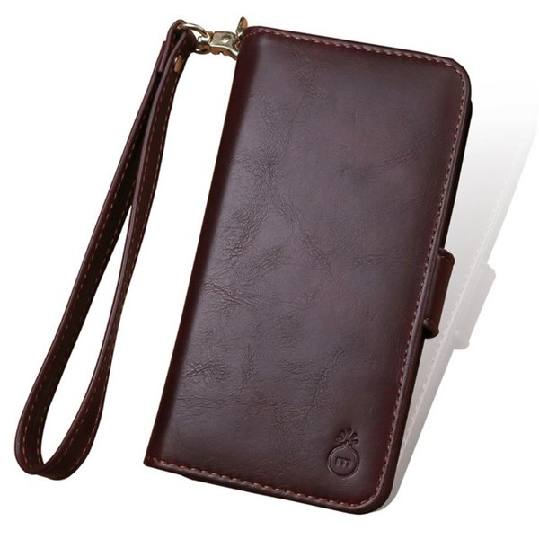 6 Colors Multi Function Leather Phone Case Detachable Phone Cover Movable Small Wallet Fit For IPhoneX Samsung Note8