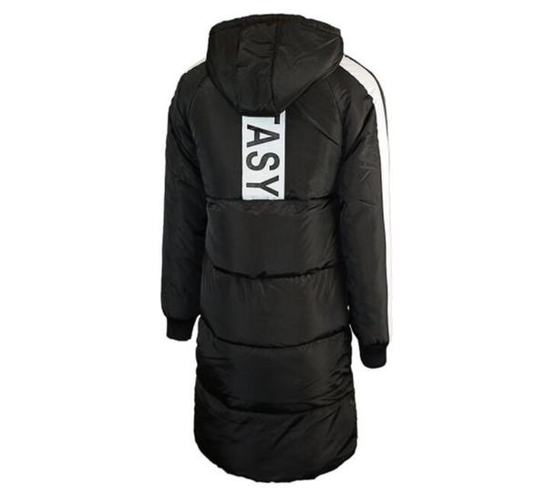 Der lange Winter 18SS warme Daunenjacken mit Kapuze einfarbig Mode Mäntel Designer Mäntel