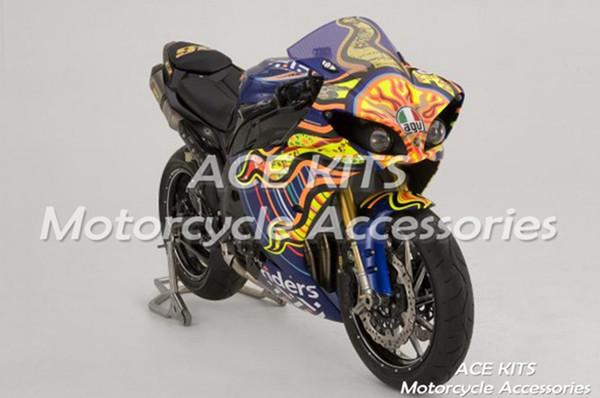 Carenados de motocicleta ACE para Yamaha YZF 1000-YZF-R1-12-13-14 YZF-R1-2012-2013-2014 Todo tipo de color No.H34
