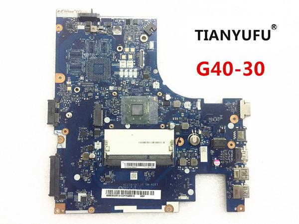 Nagelneues ACLU9 / ACLU0 NM-A311 Motherboard für Lenovo G40 G40-30 Laptop MOTHERBOARD Mit CPU (für Intel CPU) prüfte 100% Arbeit