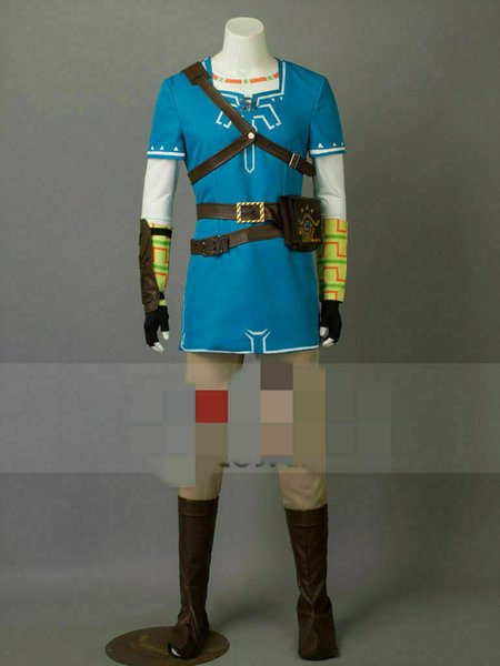 Hot The Legend Of Zelda Breath Of The Wild Link Cosplay Costume Party Clothing Themes Group Halloween Costumes Kids From Dream7 77 67 Dhgate Com
