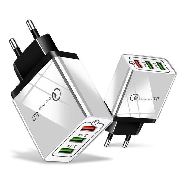 빠른 충전 4.0 3.0 USB 충전기 여행 USB 빠른 Adpater QC3.0 삼성 S10 S9 샤오 미를 들어 아이폰 벽 어댑터