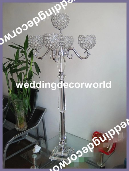 Wedding hangging clear acrylic crystal Chandeliers Centerpieces for Event Party Decor decor309