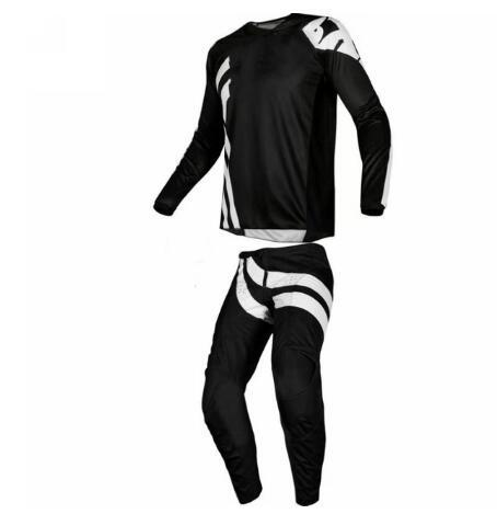 NEW 2019 Mens Grey/Navy Blue Pants Kit Combo Adult Motocross Gear Set MX/ATV Dirt Bike