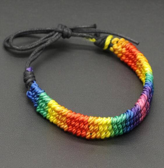 bandera gay pulsera