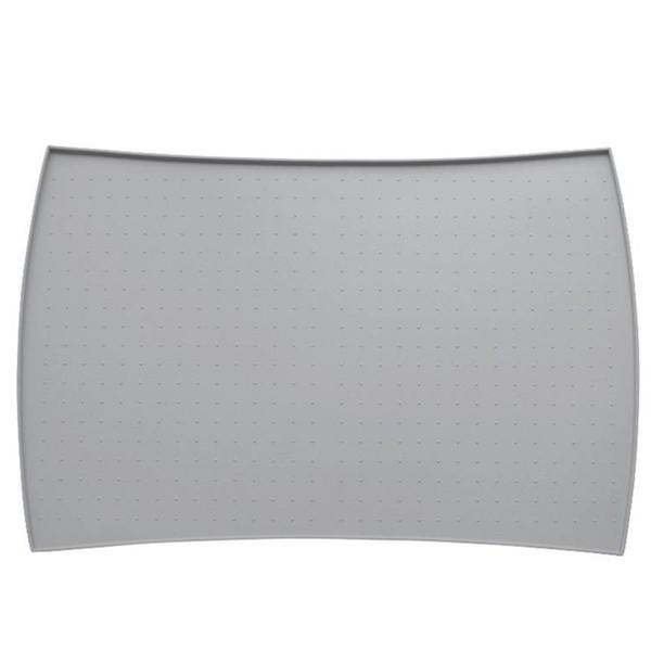 Arc Edge Feeding Dog Bowl Placemat Waterproof Silicone Pet Pad