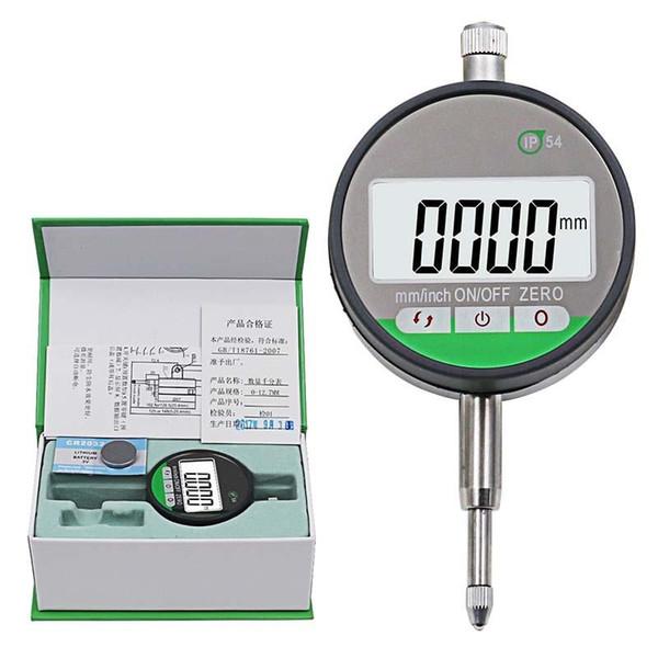 "top popular IP54 Oil-proof Digital Micrometer 0.001mm Electronic Micrometer Metric Inch 0-12.7mm  0.5""Precision Dial Indicator Gauge Met 2020"