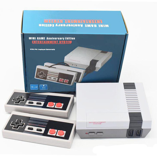 top popular New Arrival Nes Mini TV Can Store 620 500 Game Console Video Handheld For NES Games Consoles Wth Retail Box Package Hot 2019