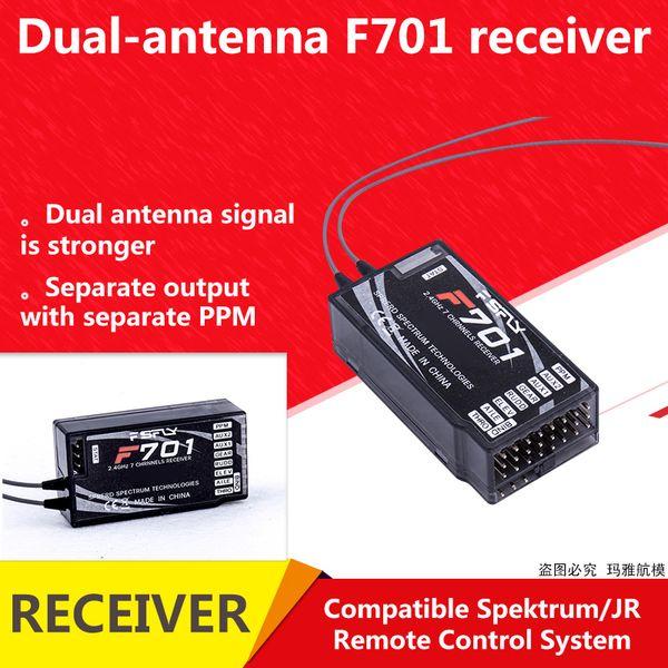 JR Spektrum ppm 2.4GHz 7CH DSMX DSM2 Spread F701 Receiver For JR Spektrum RC Remote Control System