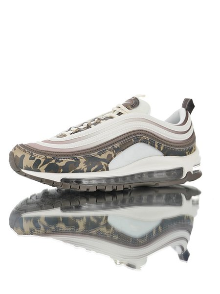 97s Premium Mink Brown white Camouflage color woman girl OG Running shoes original Sneaker outdoor designer