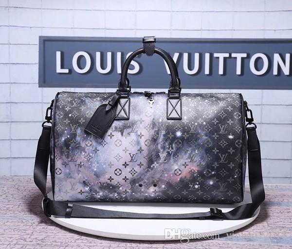11f0623d8035c 2019 Top quality men american brand new men Leather artsy handbag tote bag  purse Duffel Bags M44416