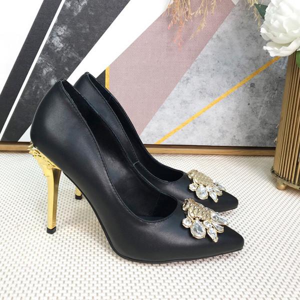 2019 fashion luxury designer women shoe high heels women sandals star vintage sandal shoes with box size 35-41 -109