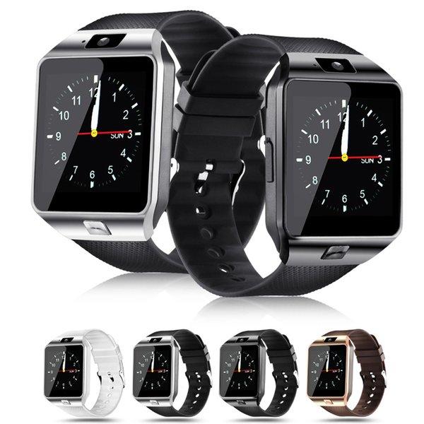 Dz09 akıllı izle moda bluetooth akıllı izle fitbit kol android telefon görüşmesi sim tf kamera smartwatch android ios