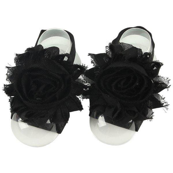블랙 BABY 맨발 신발