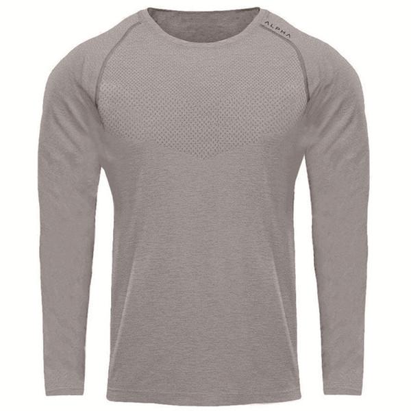 T-shirt Men New Fashion Stylish Trendy AP Fitness Summer Quick Dry Sport Gray Short Long Sleeve Sleeveless Running Gym Workout Tee Shirt