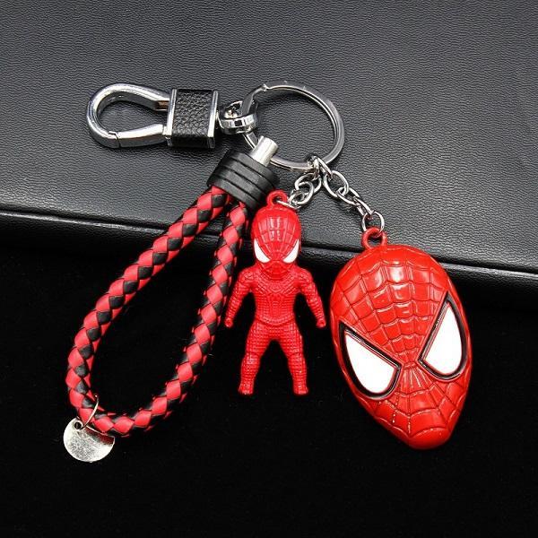 Venta al por mayor Super héroe Iron Man escudo Marvel llavero llavero de metal llavero clásico colgante llavero accesorios regalo