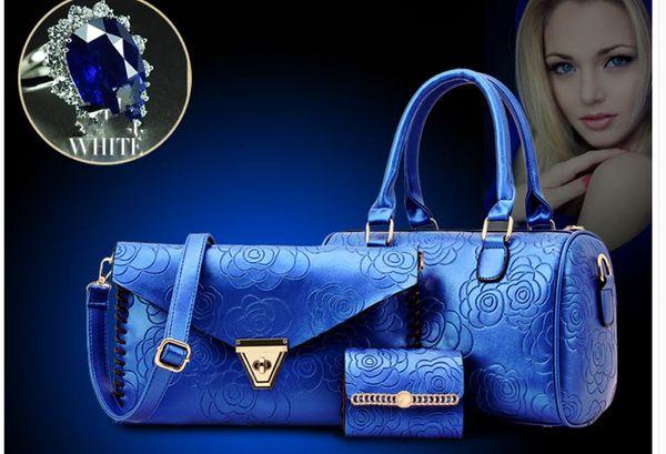 2019 donne borsa a tracolla singola pacchetto croce nuovo stile moda Borsa Tre pezzi @ 118