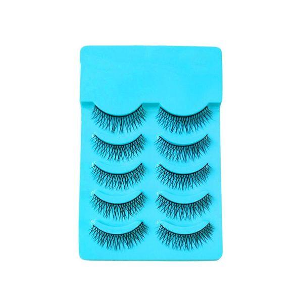 5 Pairs Women False Eyelashes Natural Fake Eyelashes Fashion Makeup Tools Eye Lashes Extension for Party Bar