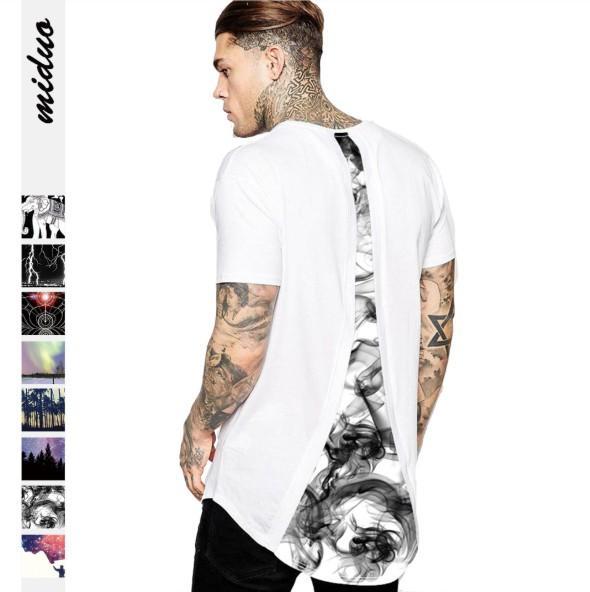 Camiseta de verano para hombre Estilo de moda Impresión Camiseta suelta Venta caliente de verano Tamaño asiático M-2XL Envío gratis