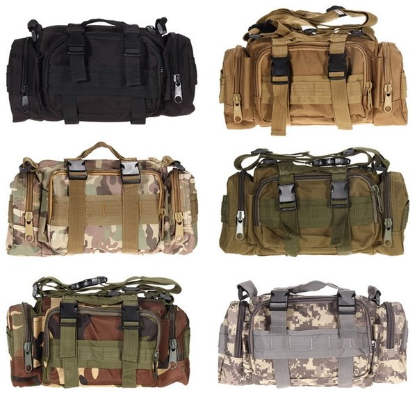 3L Tactical Bag Sport Bags 600D Waterproof Oxford Military Waist Pack Molle Outdoor Pouch Bag Durable Backpack forCamping Hiking #108637