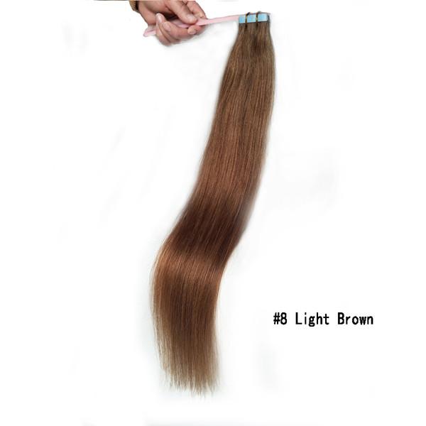#8 brun clair