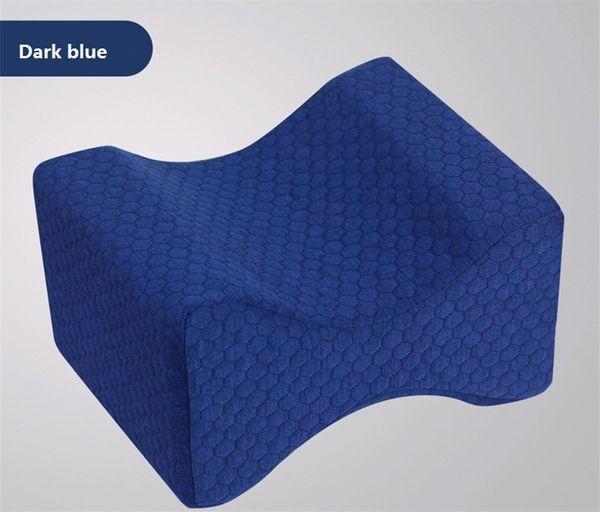 cuscino per ginocchio blu