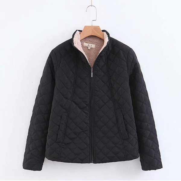 winter jacket women thick warm hooded parka 2019 new slim down cotton clothing long sleeve coat female autumn outerwear y190926