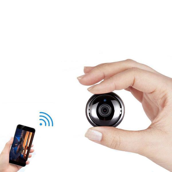 carro monitor de inteligente sem fio da câmera casa telefone celular rede WiFi remoto micro HD de visão noturna casa panorâmica