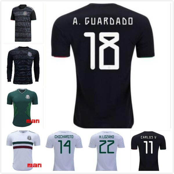 Gold Cup 2019 Mexico soccer jersey 19 20 Camisetas CHICHARITO LOZANO MARQUEZ DOS SANTOS HERRERA GUARDADO national team football shirt