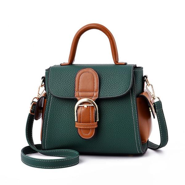 designer crossbody messenger bags luxury famous brand handbags good quality PU leather shoulder bags classical style saddle bag dust bag box