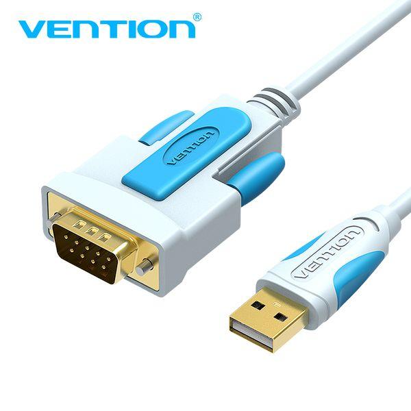 Vention USB to RS232 COM Port Serial PDA 9 DB9 Pin Cable Adapter Prolific pl2303 for Windows 7 8.1 XP Vista Mac OS USB RS232 COM