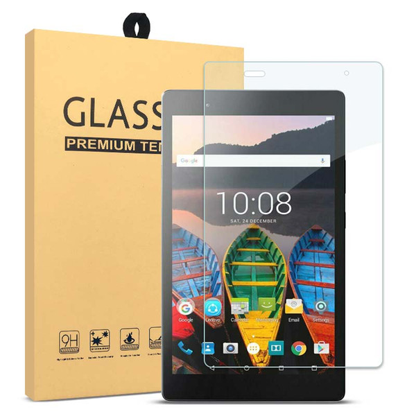 Tempered Glass Screen Protector Film Guard For Lenovo Tab 3 8PLUS E8 E7 Straight Edge Lenovo Tablet Protection Film