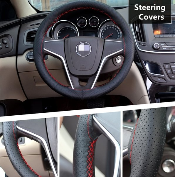 Awesome Braid On Steering Wheel Car Steering Wheel Cover With Needles And Thread Artificial Leather Diameter 38Cm Cover Sparkle Steering Wheel Cover Sparkle Uwap Interior Chair Design Uwaporg