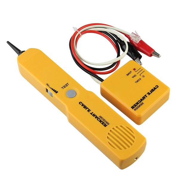 Portable RJ11 Network Phone Telephone Cable Tester Tracker Tracer Diagnose Tone Line Finder Detector Networking Tools