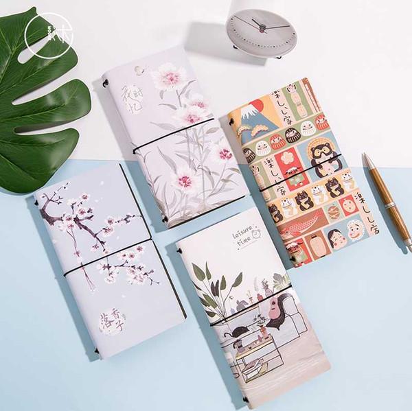 1pc Free T Series Creative Notepad Travel Hand Books Random Week Plan Schedule Memo Notebook School Office Supply