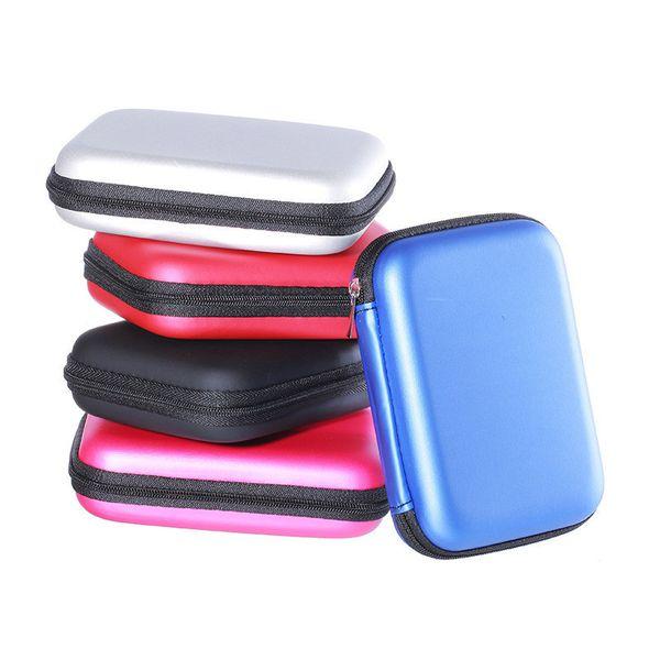 Bolsa de almacenamiento digital Paquete de cargador de cable de datos para teléfono móvil Bolsa con cremallera Zip Lock organizador portátil Mini Travel Auricular