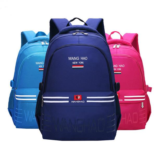 Waterproof children school bags Girls Boys Kids Satchel Orthopedic Backpack schoolbags primary school backpack mo