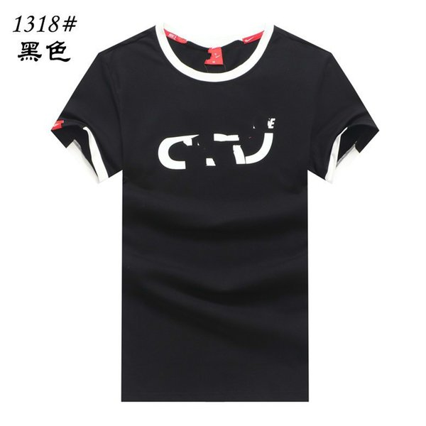 Men's casual 2019 fashion classic summer new organic cotton loose long T-shirt Recommend low price