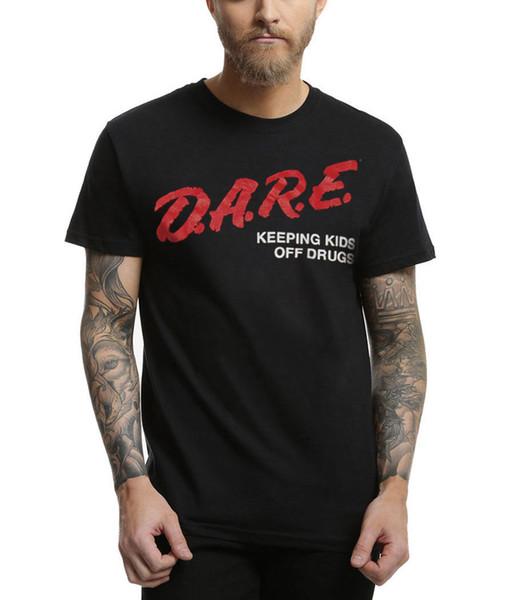 D.A.R.E Camiseta clásica con el logotipo Dare Camiseta Hombre Casual Camiseta de manga corta de algodón con cuello redondo XXXL Pareja Love Poker Camisetas