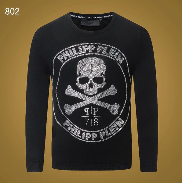 best selling 2020 new men's Black striped knit wool sweater Tiger embroidered sweatshirt Top man brand sports sweater Long-sleeved coat jacket #3308