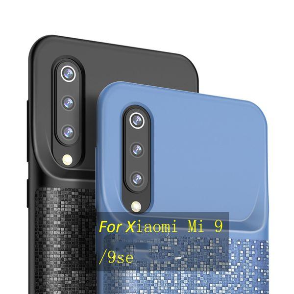 For Xiaomi Mi 9 9se SE Wireless Charging Case Portable External Battery Backup 4700mAh Cover Slim Power Bank