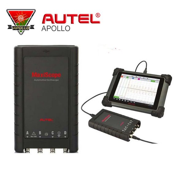 Autel MaxiScope MP408 4 Channel Automotive Oscilloscope Basic Kit Works with Maxisys Tool Autel MaxiScope MP408 Interface
