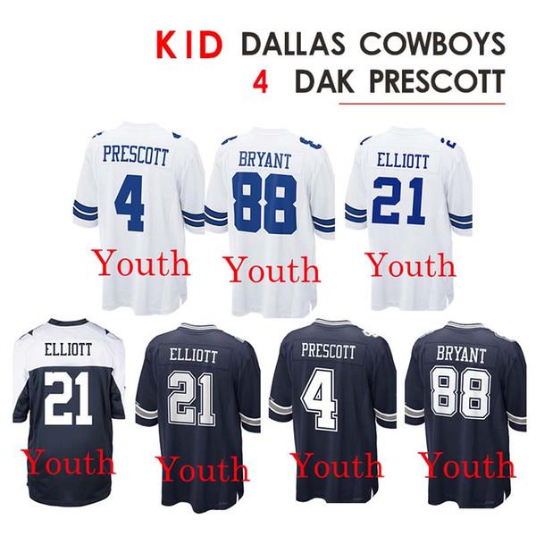 low priced 4fed0 f217f 2019 Kid 4 Dak Prescott Jerseys 88 Dez Bryant Jersey 21 Ezekiel Elliott  Rugby From Cheap_sell_jerseys, $23.5 | DHgate.Com