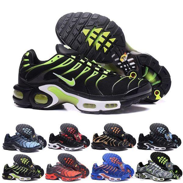 nike Vapormax Tn plus air max airmax 2019 novíssimo TN Além disso Se Almofada Greedy Running Shoes Moda Jogging sapatos para homens Outdoor Designers Sneake SVC2