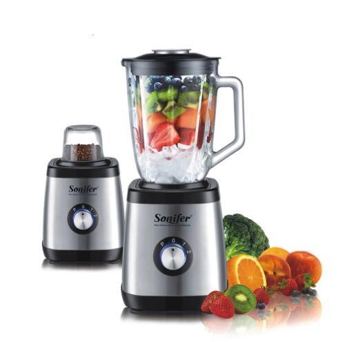 best selling 600W Multifunction electric food standing blender mixer kitchen stainless steel Glass vegetable Meat Grinder