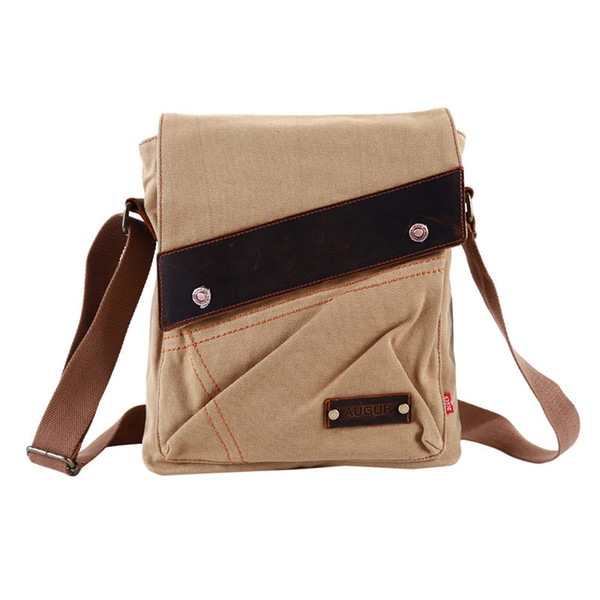 Useful Men Bag Canvas Vertical Package Men Vintage Messenger Bag Leisure Shoulder Original Retro Shell Crossbody Man