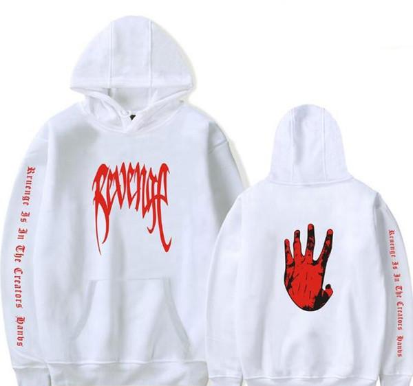 Revenge XXXTentacion Kill Men Hooded Sweatshirts Rapper XXX Tentacion Sweat Shirt Homme Hip Hop Oversized Hoodie Male Streetwear