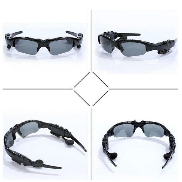 New design Sunglasses Bluetooth Headset Sunglass Stereo Wireless Sports Headphone Handsfree Earphones Music Player With Retail Package