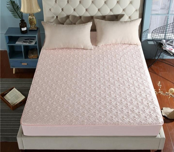 Fitted Sheet 100% Cotton Topper Ultra Soft Air-Flow Microfiber Mattress Cotton Bed Sheets King Queen Twin Size