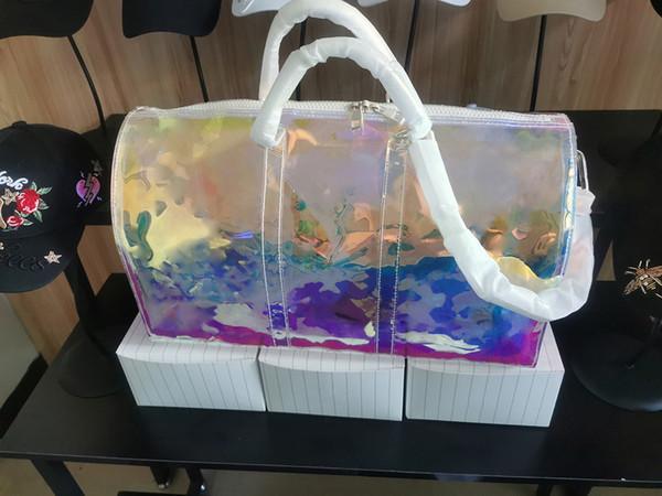 Melhor nunca colorido de alta qualidade mens designer de luxo saco de bagagem de viagem homens totes keepall bolsa duffle bags marca moda completa 506c98 #